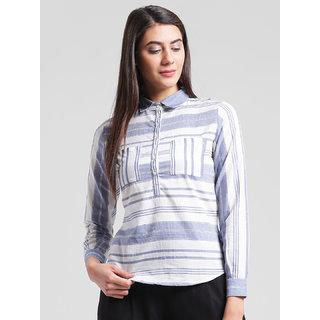 RIGO Stripe Print Shirt