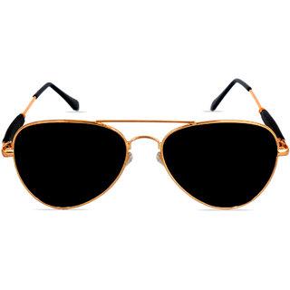 2e66cfe3e76 Buy Criba Black UV Protection Aviator Unisex Sunglasses Online - Get 83% Off