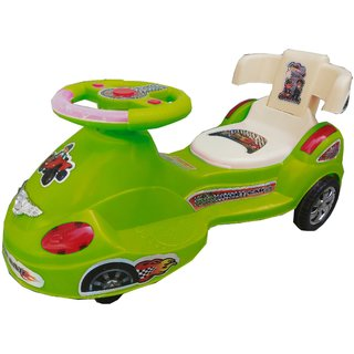 Oh Baby Baby train Shape With Back Support Musical Light Magic Car For Your Kids SE-MC-20