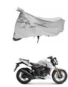 TVS Apache RTR 180 Silver Bike Body Cover
