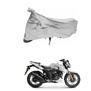 TVS Apache RTR 180 Silver Bike Body Cover