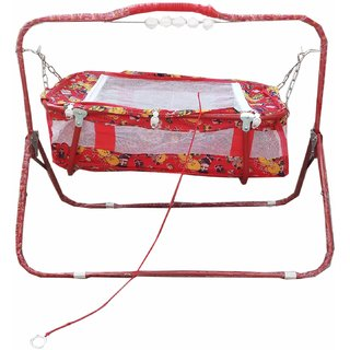 Oh Baby Cradles (Jhulla And Palna) With Mosquito Net SE-JP-01
