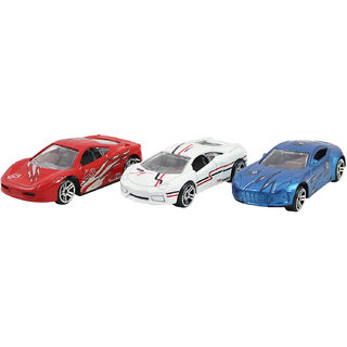 dealBindaas Metal Die Cast 156 Fast Furious Car Model 3 Pc Free Wheel Action Dinky Car Toys Children Gift Collection Least price