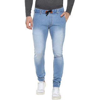 Urbano Fashion Men's Stretchable Slim Fit Blue Jeans