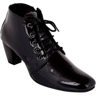 Exotique Womens Black Casual Boots (EL0060BK)