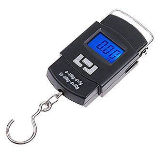 A4Attitude New Mini Portable Pocket Digital Electronic 0.1 g To 50 Kg Weighing Scale  (Black)