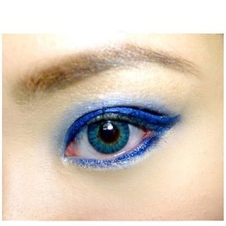 bd82918fd9a Buy Optify Sea Blue Monthly Color Contact Lens (Zero Power