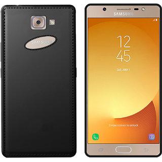 size 40 eff3b 2a60c Hupshy Samsung Galaxy J7 Max Cover (Black), Samsung Galaxy J7 Max Plain  Cases Cover, Samsung Galaxy J7 Max Back Cover - Black