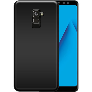 huge selection of cebd7 d2c7c Hupshy Samsung Galaxy A8 Plus Cover / Samsung Galaxy A8 Plus Back Cover /  Samsung Galaxy A8 Plus Plain Case Cover / Soft TPU Cover For Samsung Galaxy  ...