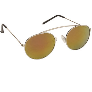 7f090c2ea45 Buy Arzonai Haskell MA-299-S5 Round Unisex Orange Sunglasses Online - Get 75%  Off