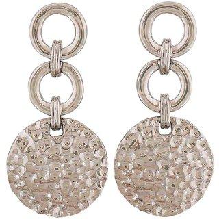 Maayra Fashion Earrings Silver Dangler Drop College Fashion Earrings