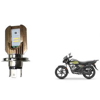 GenericMotorcycle Headlight Bulb H4 Motorcycle Front Lights With Cooling  Fan Cob Motorbike Headlight 20W Moto Bulbs Hi/Low Beam Led Headlamp Light