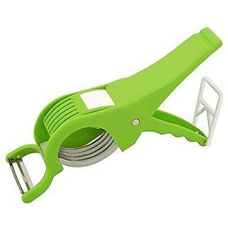 Plastic Vegetable Cutter With Veg Peeler
