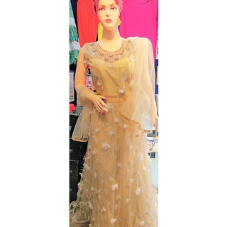 Imported Gown with Dupatta and Leggie