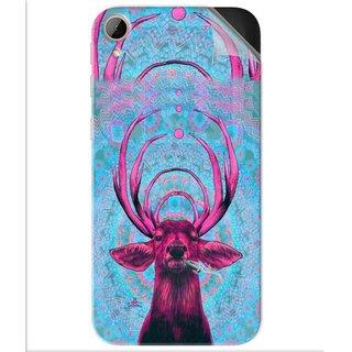 Snooky Printed acid deer Pvc Vinyl Mobile Skin Sticker For Htc Desire 830