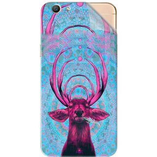 Snooky Printed acid deer Pvc Vinyl Mobile Skin Sticker For Oppo F1s