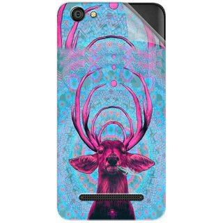 Snooky Printed acid deer Pvc Vinyl Mobile Skin Sticker For LYF Wind 6