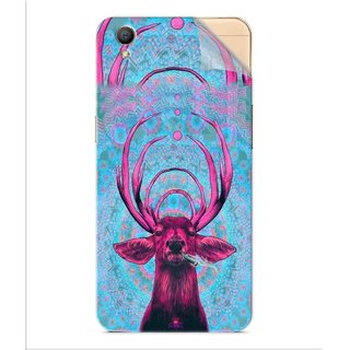 Snooky Printed acid deer Pvc Vinyl Mobile Skin Sticker For Oppo A37