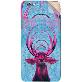 Snooky Printed acid deer Pvc Vinyl Mobile Skin Sticker For Gionee Elife S6