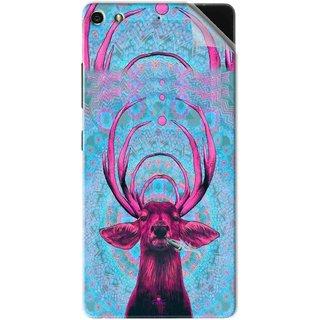 Snooky Printed acid deer Pvc Vinyl Mobile Skin Sticker For Gionee Elife S7