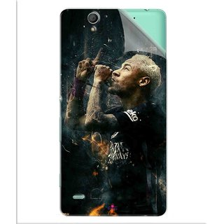 Snooky Printed The Magician  Neymar FootBall Pvc Vinyl Mobile Skin Sticker For Sony Xperia C4