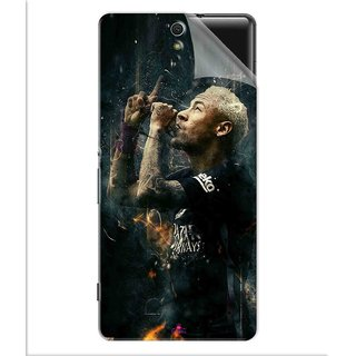 Snooky Printed The Magician  Neymar FootBall Pvc Vinyl Mobile Skin Sticker For Sony Xperia C5