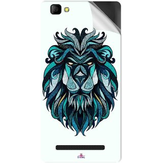 Snooky Printed andreaspreis lion Pvc Vinyl Mobile Skin Sticker For LYF Wind 7