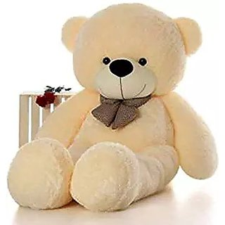4d0279e1bec22 Buy omnitex 5 feet cute and soft teddy bear (cream) Online   ₹6999 ...