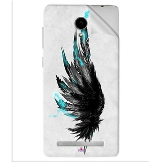 Snooky Printed wing tattoo Pvc Vinyl Mobile Skin Sticker For Vivo Y28