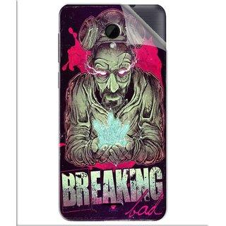 Snooky Printed Breaking Bad Pvc Vinyl Mobile Skin Sticker For Intex Aqua Q7