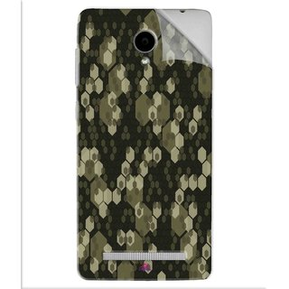 Snooky Printed Camouflage Camo patterns Pvc Vinyl Mobile Skin Sticker For Vivo Y28