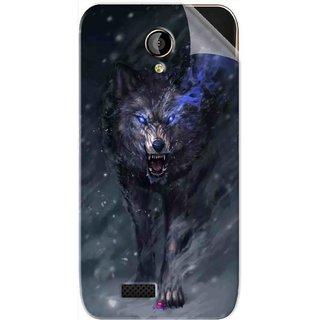 Snooky Printed Wolf Spirit Animal Pvc Vinyl Mobile Skin Sticker For LYF Flame 6