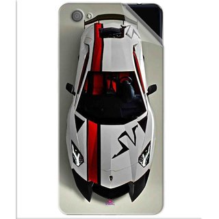 Snooky Printed sports cars and bikes Pvc Vinyl Mobile Skin Sticker For Vivo X5 Pro