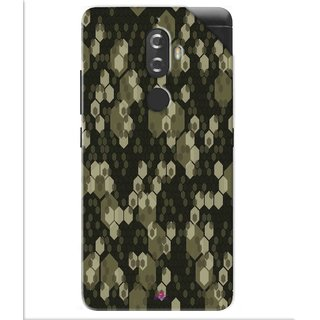 Snooky Printed Camouflage Camo patterns Pvc Vinyl Mobile Skin Sticker For Lenovo K8 Plus