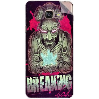 Snooky Printed Breaking Bad Pvc Vinyl Mobile Skin Sticker For Samsung Galaxy A7 2016