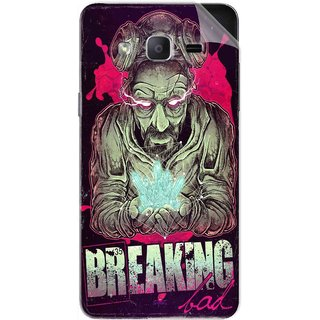 Snooky Printed Breaking Bad Pvc Vinyl Mobile Skin Sticker For Samsung Galaxy On5 Pro