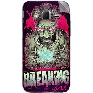 Snooky Printed Breaking Bad Pvc Vinyl Mobile Skin Sticker For Samsung Galaxy Core Prime