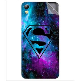 Snooky Printed Superman Fondos Pvc Vinyl Mobile Skin Sticker For Tecno i3