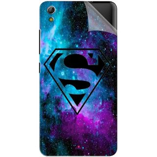 Snooky Printed Superman Fondos Pvc Vinyl Mobile Skin Sticker For Gionee Pioneer P5W