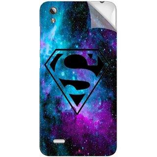 Snooky Printed Superman Fondos Pvc Vinyl Mobile Skin Sticker For Vivo Y17