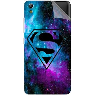 Snooky Printed Superman Fondos Pvc Vinyl Mobile Skin Sticker For Gionee Pioneer P6