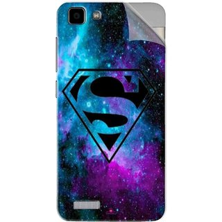 Snooky Printed Superman Fondos Pvc Vinyl Mobile Skin Sticker For Vivo Y27L