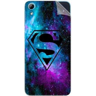 Snooky Printed Superman Fondos Pvc Vinyl Mobile Skin Sticker For HTC Desire 826