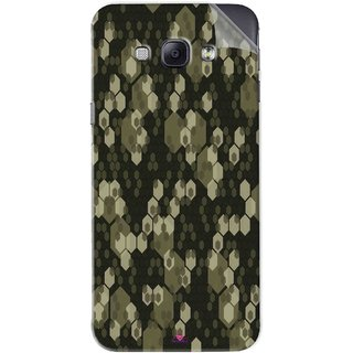 Snooky Printed Camouflage Camo patterns Pvc Vinyl Mobile Skin Sticker For Samsung Galaxy A8