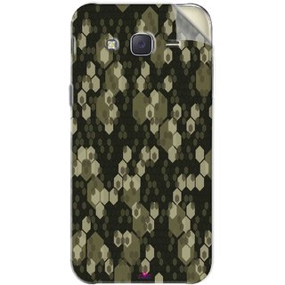 Snooky Printed Camouflage Camo patterns Pvc Vinyl Mobile Skin Sticker For Samsung Galaxy J5