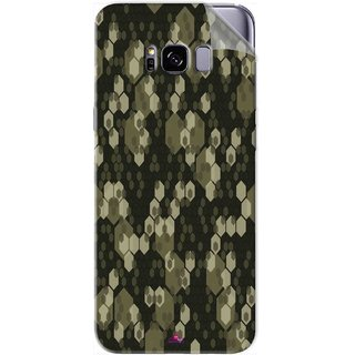Snooky Printed Camouflage Camo patterns Pvc Vinyl Mobile Skin Sticker For Samsung Galaxy S8