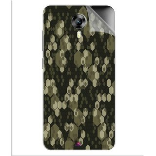 Snooky Printed Camouflage Camo patterns Pvc Vinyl Mobile Skin Sticker For Micromax Canvas Express 2 E313