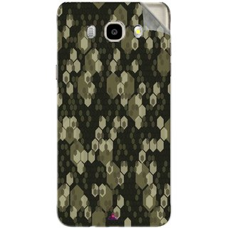 Snooky Printed Camouflage Camo patterns Pvc Vinyl Mobile Skin Sticker For Samsung Galaxy J7 (2016)