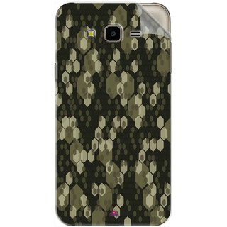 Snooky Printed Camouflage Camo patterns Pvc Vinyl Mobile Skin Sticker For Samsung Galaxy J7