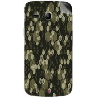 Snooky Printed Camouflage Camo patterns Pvc Vinyl Mobile Skin Sticker For Samsung Galaxy Star Advance